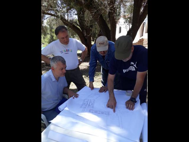 La Comisión Ejecutiva visitó el predio en Los Cocos, Córdoba