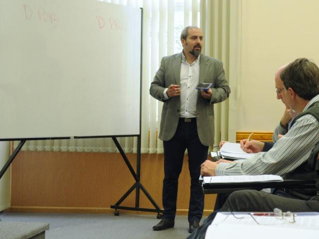 Abogado Anibal Paz, asesor legal  de FAGDUT