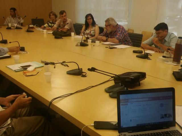 La Comisión Ejecutiva visitó la Facultad Buenos Aires
