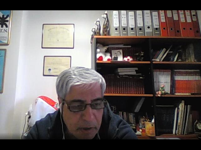 Secretario General de APUTN, Prof. Norberto Gutierrez,