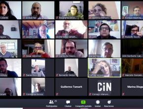 Videoconferencia de la Comisión de COVID del CIN