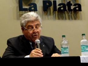 Carlos Fantini, decano de la UTN, Regional La Plata.