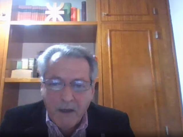 El Rector, Ing. Héctor Aiassa