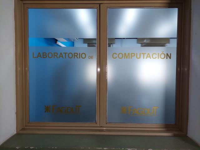Laboratorio de Informática de FAGDUT en San Francisco